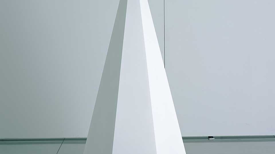 image of Pyramid #2 | Sol Lewitt