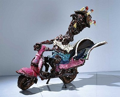 image of Van Gogh Scooter | Ushio SHINOHARA