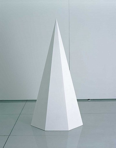 image of Pyramid #2 | Sol Lewitt