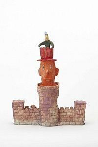 《城》2013 ceramic (Photo by Kenji Takahashi)©Naoki Koide,  courtesy of Tomio Koyama Galleryの画像