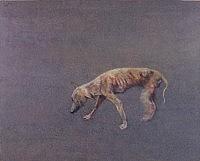 ヤセ犬の散歩/1997/都城市立美術館蔵の画像